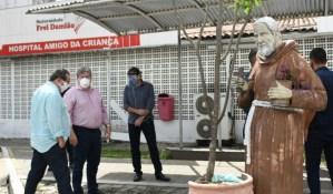 Governo decide colocar unidade I da Frei Damião em funcionamento para tratamento de pacientes com Covid-19