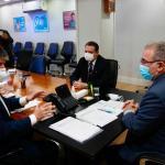 Ampliação do atendimento nos hospitais e vacinação na Paraíba é pauta de reunião entre Ruy Carneiro e novo ministro da Saúde