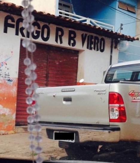 Endereço de construtora é um açougue no Centro de Vitória do Mearim