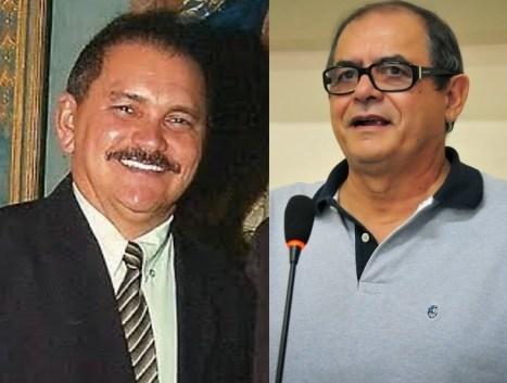 Rubens Pereira e Humberto Coutinho: um já foi condenado e outro enfrenta 44 ações judiciais