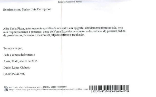 O que fez a ex-titular do Cartório 1º Ofício de Caxias – MA, Alba Tânia Fiúza, desistir do processo contra a desembargadora Nelma Sarney? Mistérios serão revelados em breve.