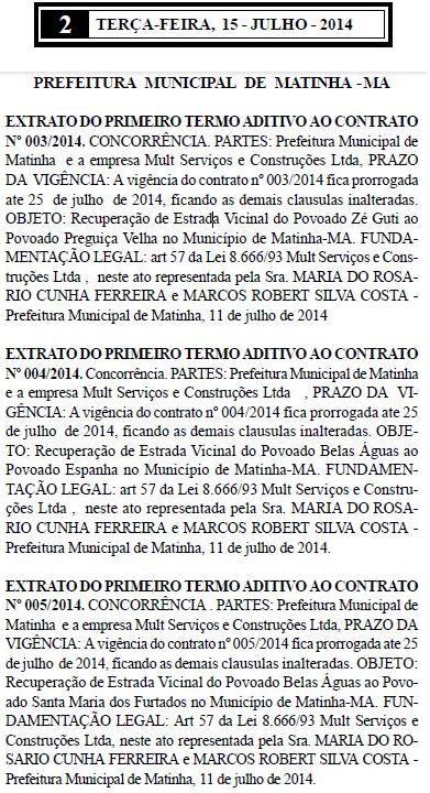 De uma só vez, prefeito Beto Pixuta, assinou três contratos com a empresa fantasma