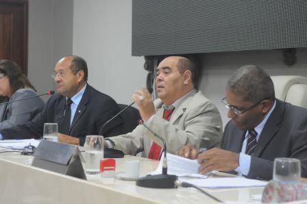 Mesa dos Trabalhos. Foto: Paulo Caruá