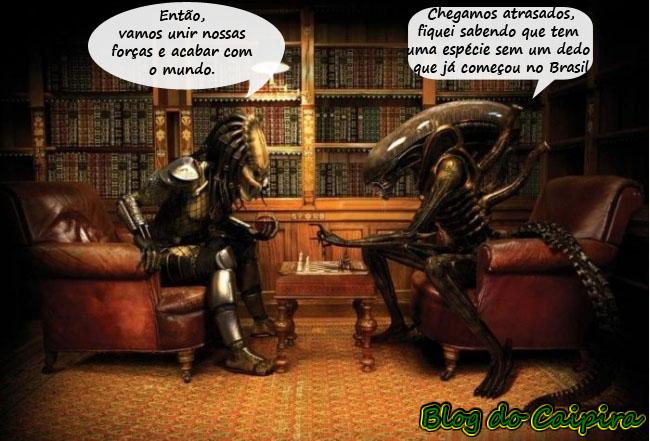 alien x predador