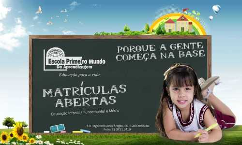 escola primeiro mundo 1212
