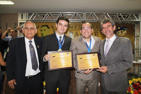 Zé Minhoca, Allan Carneiro, Valmir Ribeiro e Dida de Nan