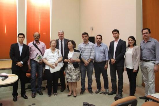 """Workshop """"Diálogos Setoriais"""", realizado nesta terça (27) no auditório da Secretaria Estadual de Ciência, Tecnologia e Inovação (SECTI/PE)."""