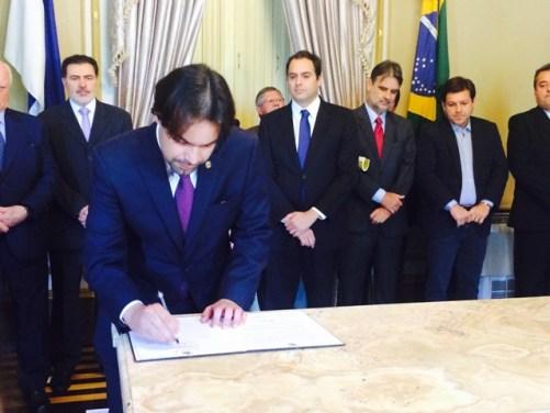 primeiro-secretario Diogo Moraes
