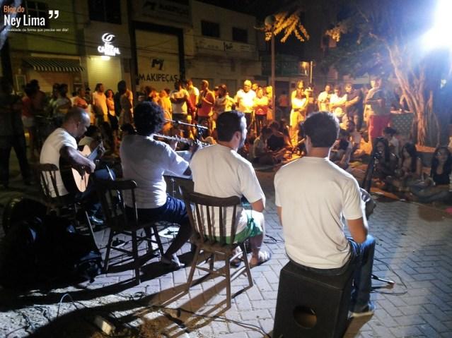 Grupo de chorinho formado com músicos de Santa Cruz e Caruaru foi uma das atrações - Fotos: Thonny Hill