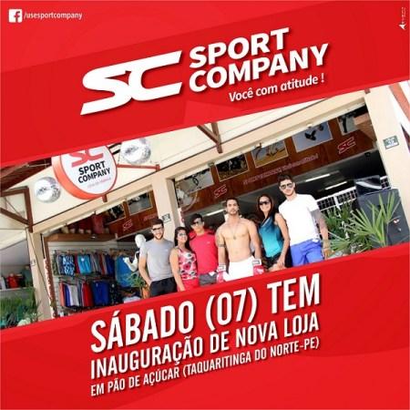 Sport Company inauguração