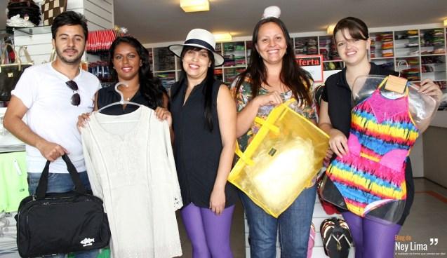 Equipe da Camboriú te espera com todas as novidades da loja no Rota do Mar Complex - Fotos: Thonny Hill