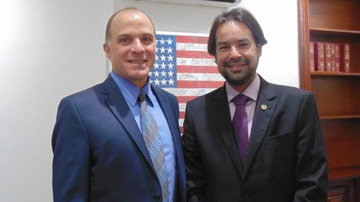 Richard Reiter e Diogo Moraes