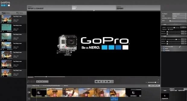 How to use qumox sj4000 sjcam with official gopro studio for How to use gopro studio templates