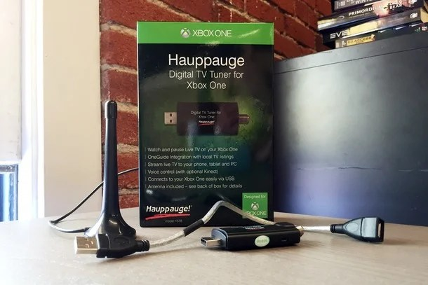 Hauppauge Xbox One Digital TV Tuner Lets You Stream Live