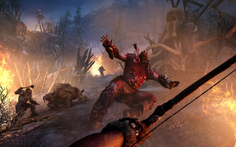 far cry primal ps4 gameplay