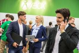 Impressionen Business Area, Stand: X-Box, Fotoshooting, gamescom 2016