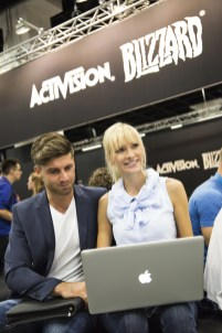 Impressionen Business Area, Stand: Activision Blizzard, Fotoshooting, gamescom 2016, Halle 4.1
