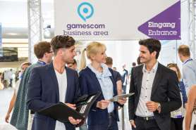 Impressionen Business Area, Fotoshooting, gamescom 2016, Halle 4.1