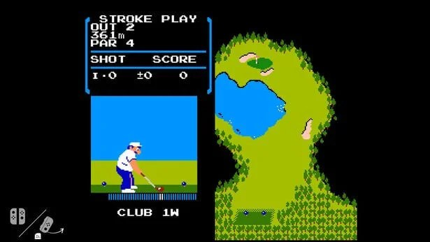 NES Golf game