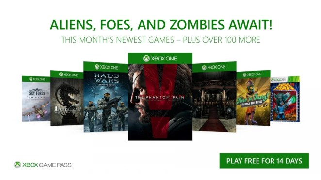 Xbox Game Pass November Hero Image