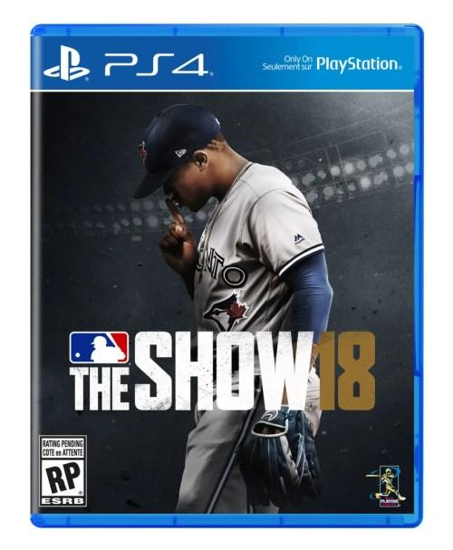 MLB The Show 18: Canadian Box Art