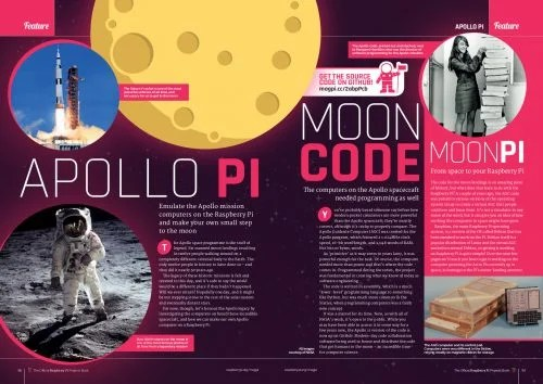 An article about the Apollo Pi project in The Official Projects Book volume 3