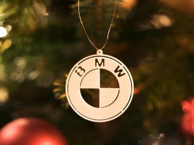 Drive Into The Holiday Season With 3d Printable Bmw Christmas