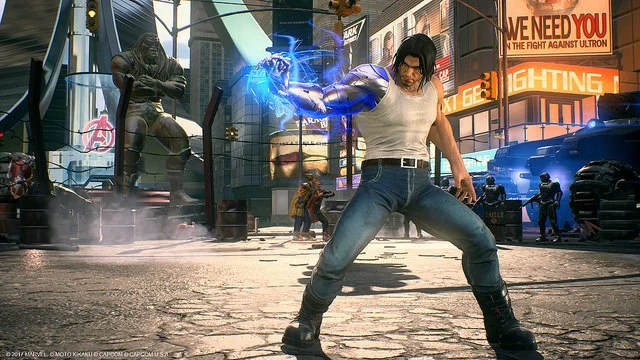 Marvel vs. Capcom Infinite: Winter Soldier Premium Costume
