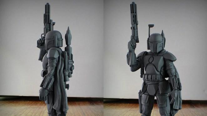 Star Wars Boba Fett printable