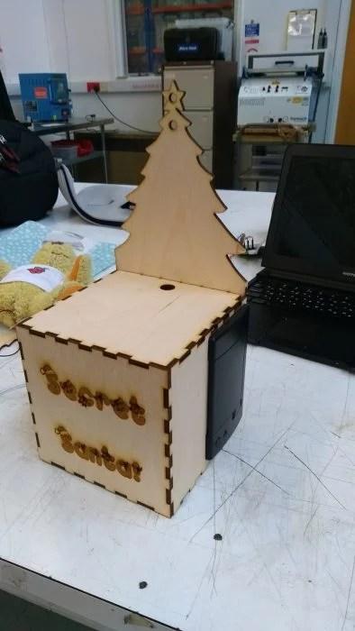 Secret Santa Babbage throne
