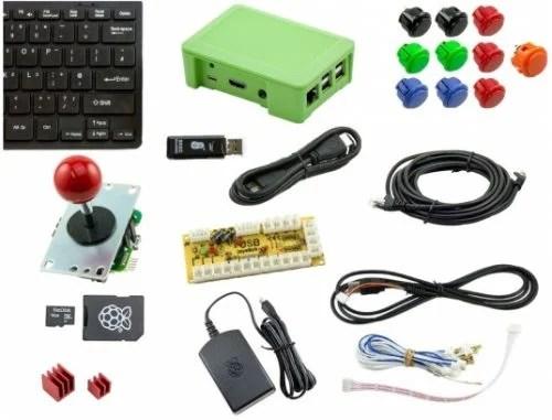 Pi Hut Arcade Kit - The Raspberry Pi Christmas Shopping List 2017