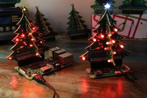 Pi Hut 3D Christmas Tree - The Raspberry Pi Christmas Shopping List 2017