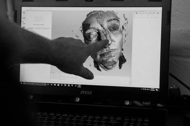 NYU face donor 3d printed mask