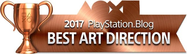 PlayStation Blog Game of the Year 2017 - Best Art Direction (Bronze)