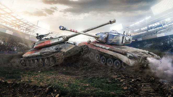 World of Tanks TankBowl 2018 Key Art