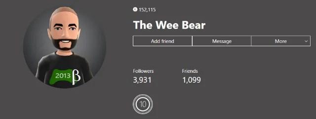 Xbox Insider Community Spotlight: The Wee Bear