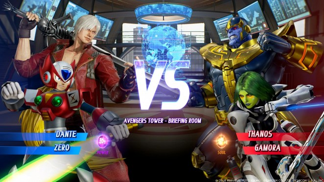 Marvel vs. Capcom Infinite Screenshot