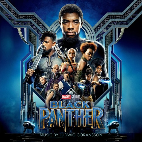 BlackPanther Score Cover Marvel Music Hollywood Records