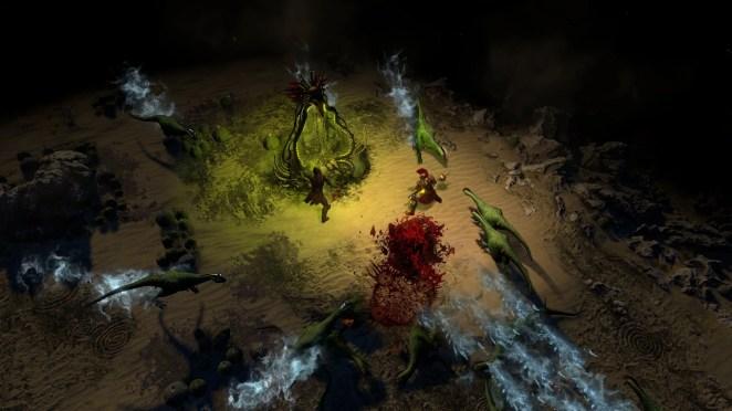 Path of Exile Desert Screenshot