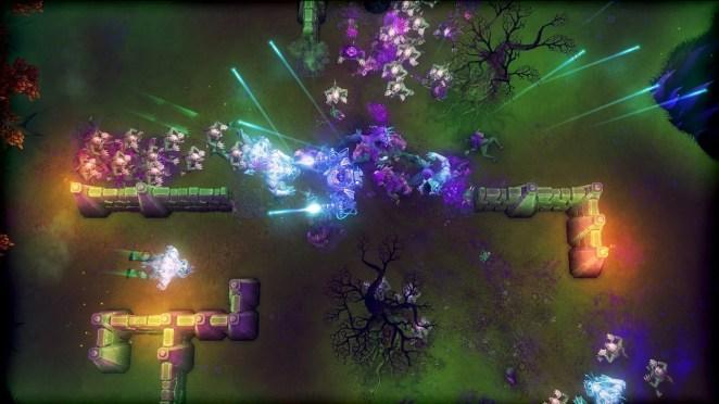 Tesla vs. Lovecraft Screenshot