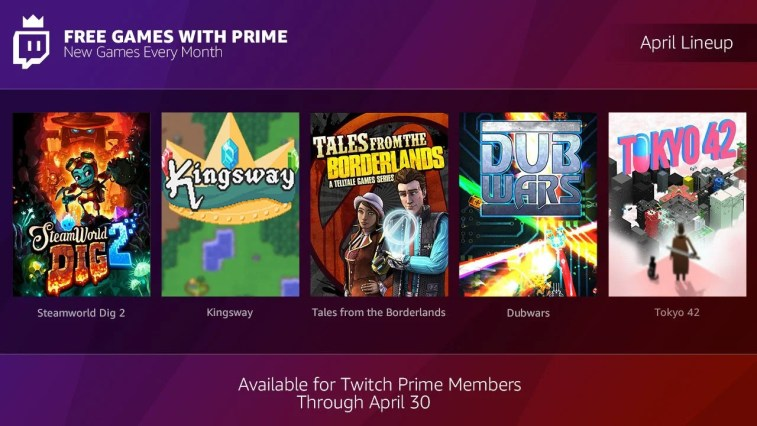 Amazon prime to twitch