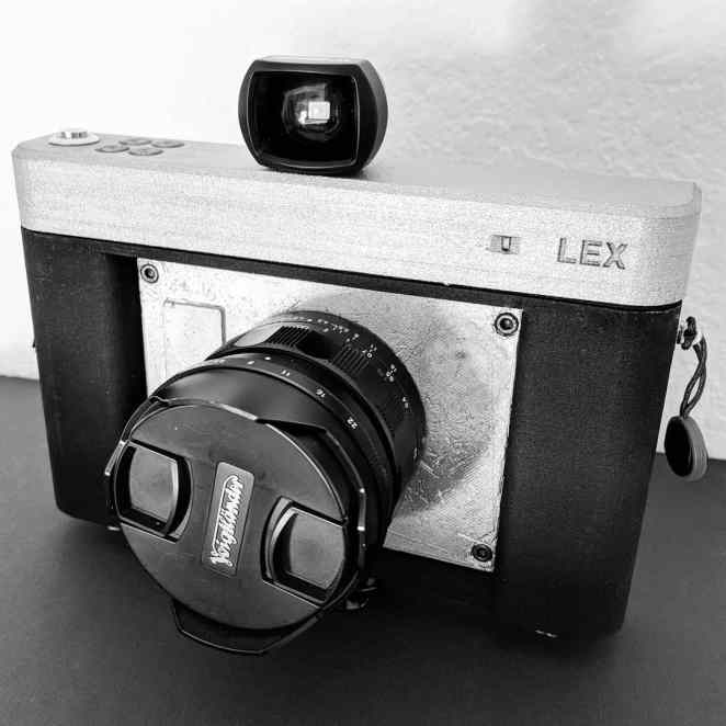 lex 3d printed camera