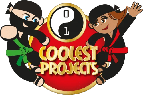 Coolest Projects logo Raspberry Pi