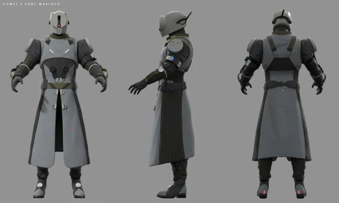Destiny 2: Forsaken Concept Art – PlayStation-Exclusive Warlock Armor