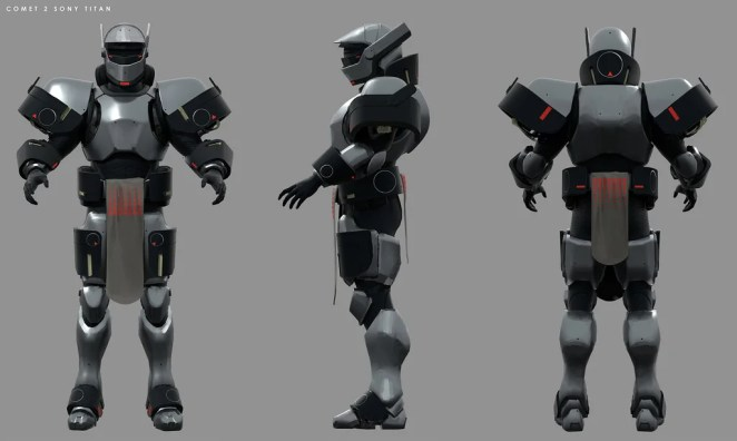 Destiny 2: Forsaken Concept Art – PlayStation-Exclusive Titan Armor