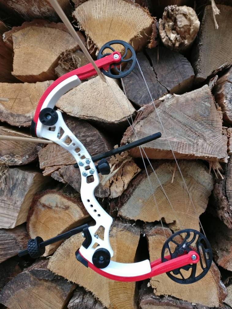 Weekend Project: Take Aim With a 3D Printed Miniature Compound Bow