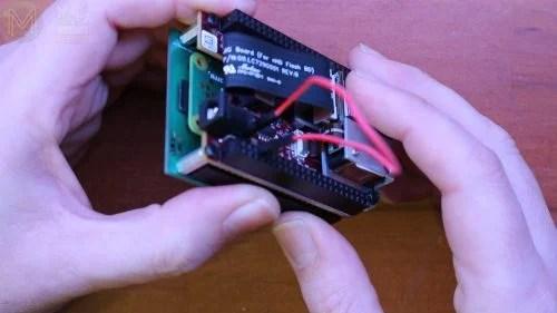 raspberry pi pocket pi projector mickmakes