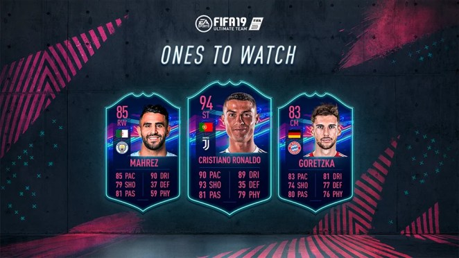 FIFA 19 Ones to Watch