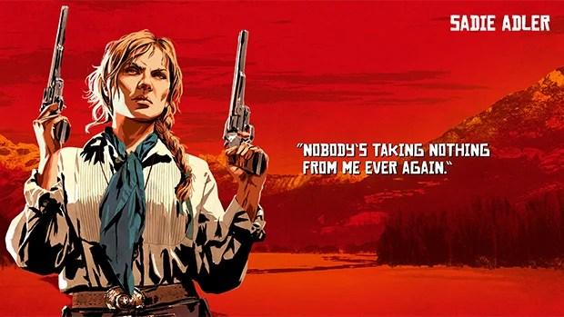 Red Dead Redemption 2 Sadie image