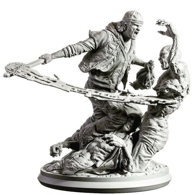 Days Gone Statue